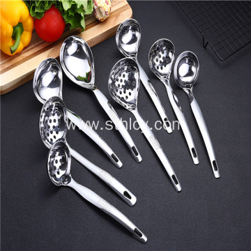 304 Heart-shaped Round Stainless Steel Ladle Set
